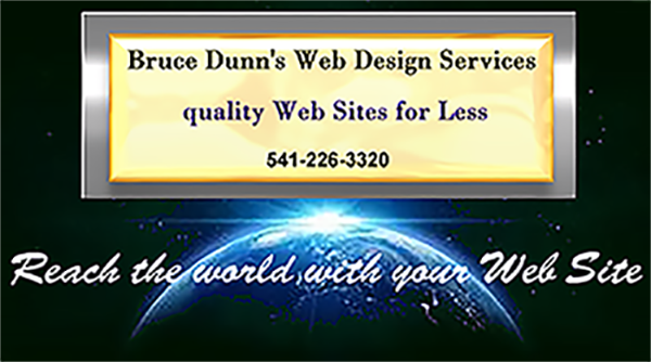 Bruce Dunn's Web Design Services